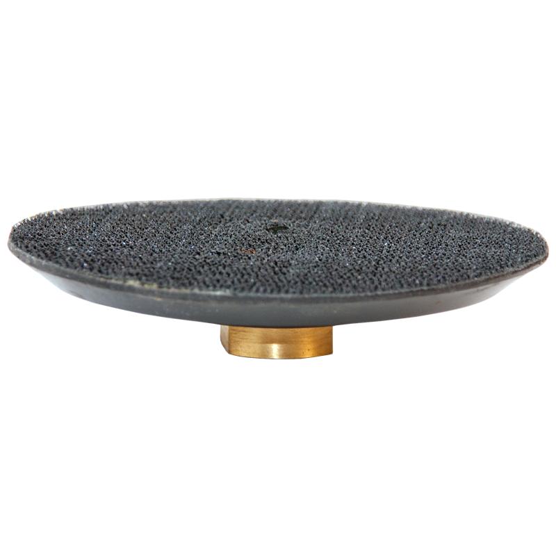 klett unterteller 125mm mit klettverschlu f r schleifpads m14. Black Bedroom Furniture Sets. Home Design Ideas